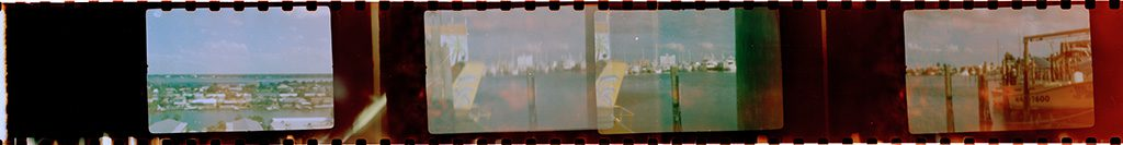 Pinhole Negative Strip