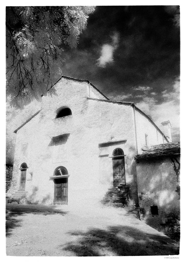 Black and White Tales, Print 13.  San Costanzo al Monte